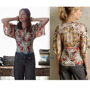 Kas Winterstar Kaleidoscope Kimono Short Sleeve